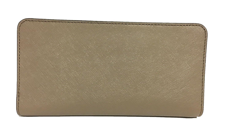 74f90e9ac5e0e6 Amazon.com: Michael Kors Hamilton Traveler Large Zip Around Cluch Wallet  Brown/Luggage (Ballet): Shoes