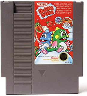 Amazon com: Bubble Bobble - Nintendo NES: Video Games