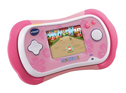 ce85ae2003 Image Unavailable. Image not available for. Color  VTech MobiGo 2 Touch  Learning System - Pink