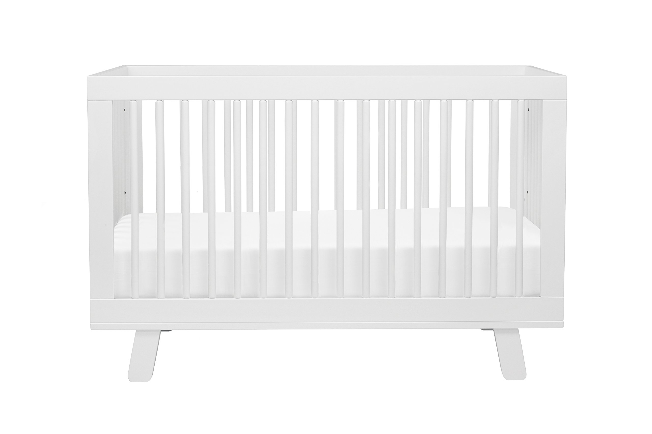Babyletto Hudson 3-in-1 Convertible Crib with Toddler Bed Conversion Kit, White by babyletto (Image #3)