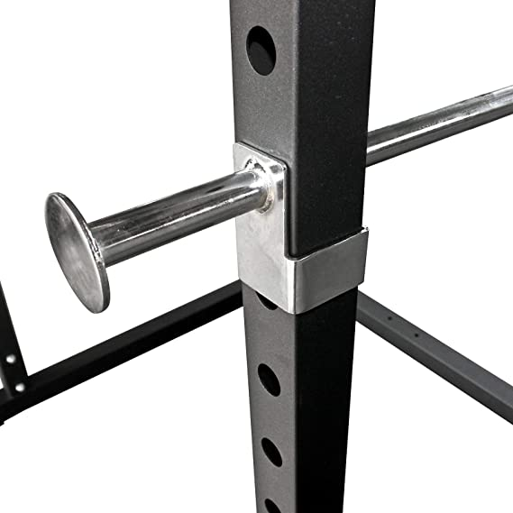 TrainHard - Power Rack Pesas Jaula Squat Multi Prensa con poleas ...