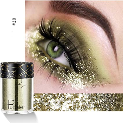 pitashe Sombras Mono Shadow Natural Diamante – Sombra de Ojos Eyeshadow Plata Acabado Metálico, colores vivos, Intensivo Eye Shadow, intensive Deck Fuerza Ojo sombra, 1er Pack: Amazon.es: Belleza