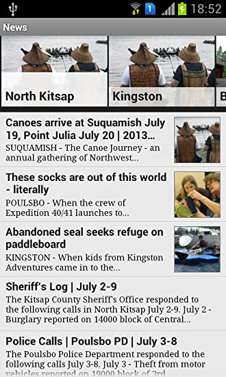Amazon com: North Kitsap Herald: Appstore for Android