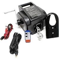 Cabrestante eléctrico 350W Torno de cable Winche Hasta