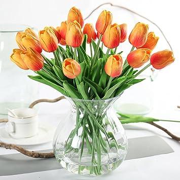 Justoyou Kunstliche Tulpen Fur Hochzeiten Als Dekoration Textil