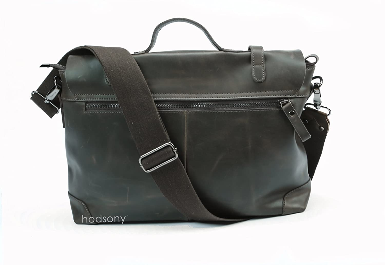 Briefcase Messenger Genuine Leather Shoulder Bag 050