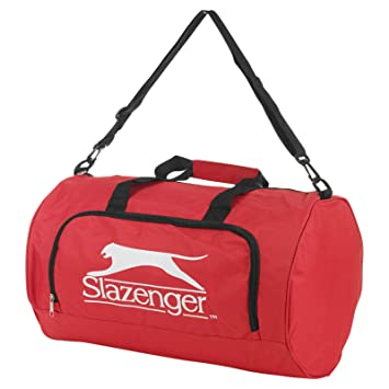 3351eaa1ca Slazenger Sports Travel Bag With Adjustable Shoulder Strap - Red ...