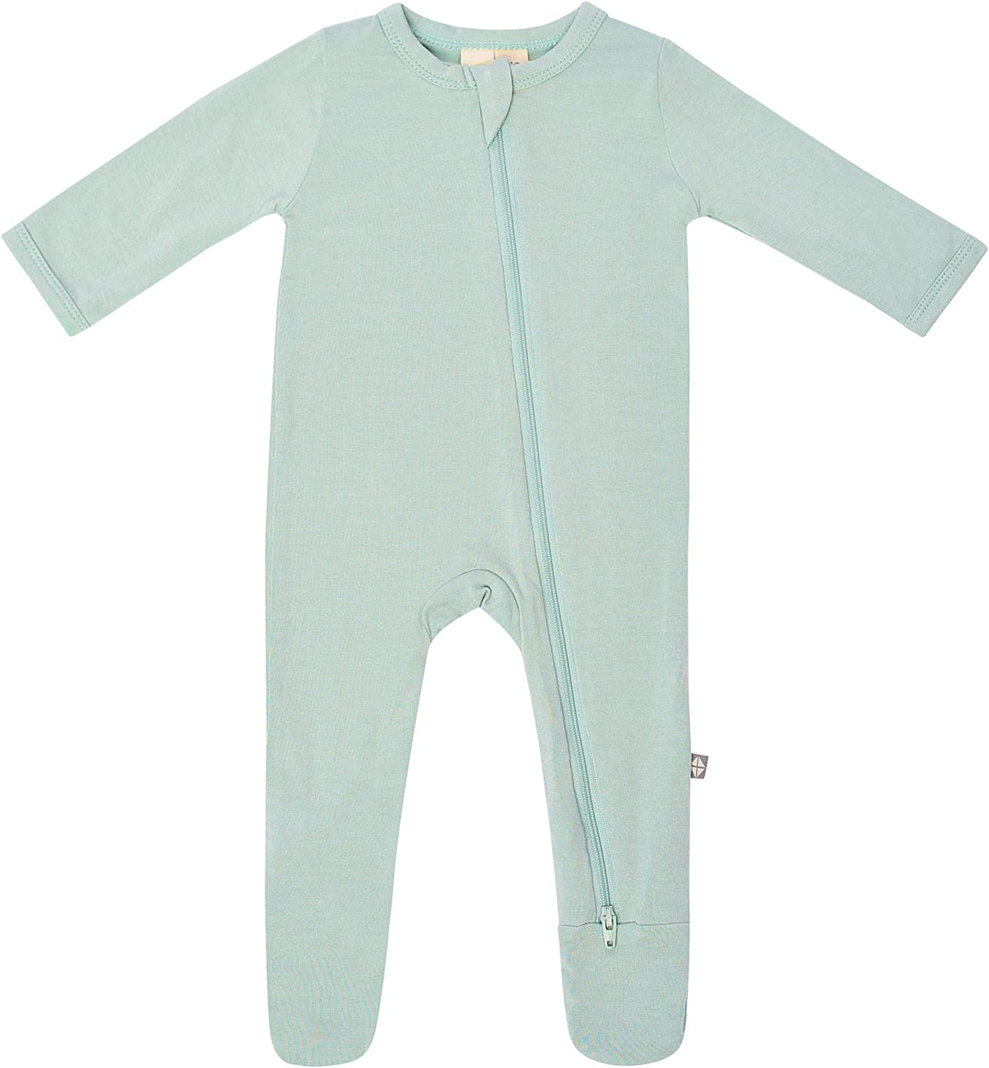 KYTE BABY Soft Bamboo Rayon Footies, Zipper Closure, 7-7 Months