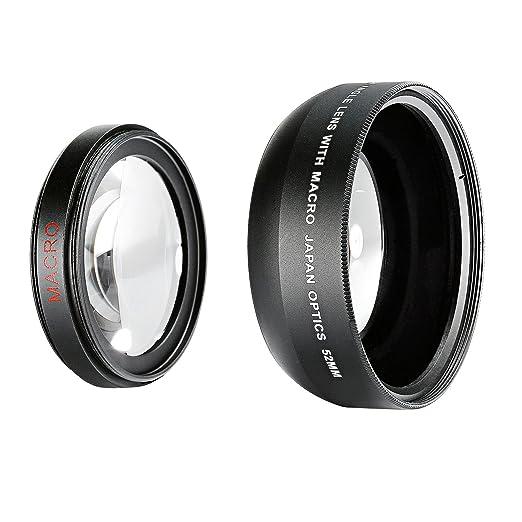 6 opinioni per Neewer® 52mm 0.43X Professionale Alta Definizione Grandangolo con Lente Macro