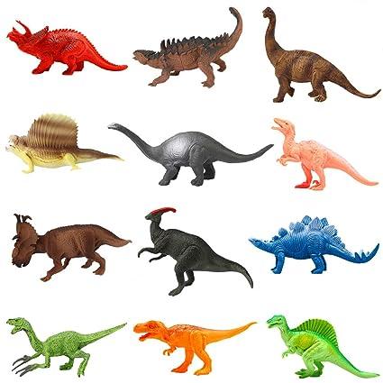 Amazon Com Animals Figure 12 Piece 7 Jungle Animals Toys Set