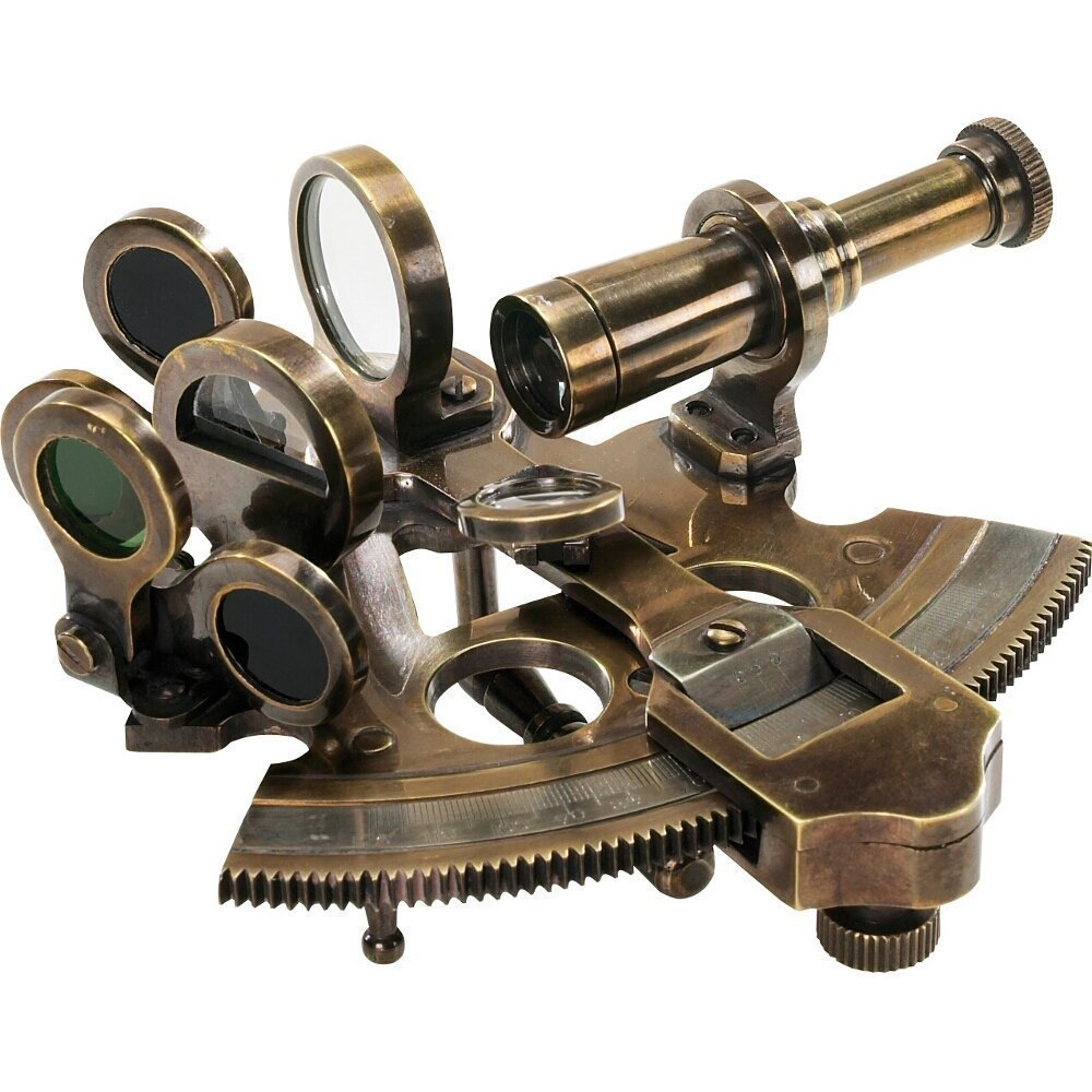 Nautical Bronze Sextant Nautical Gift Decor