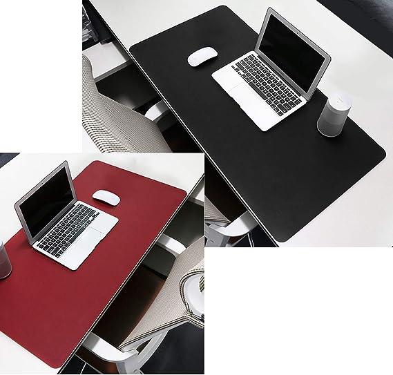 Keesin impermeabile di gioco scrivania antiscivolo estesa PU computer mouse pad Mat per ufficio e casa