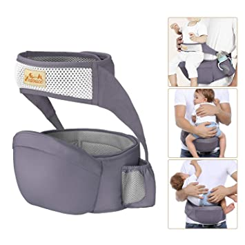 Double-safety Side Bag Adjusted Baby Infant Hip Seat Toddler Waist Stool Carrier