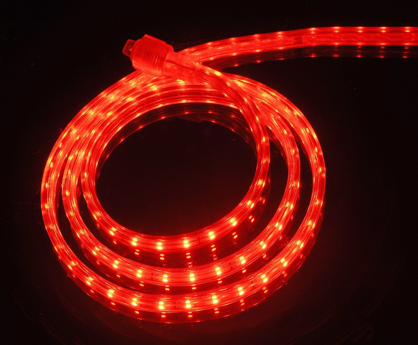 CBConcept UL Listed, 10 Feet, 1080 Lumen, 3000K Warm White, Dimmable, 110-120V AC Flexible Flat LED Strip Rope Light, 180 Units 3528 SMD LEDs, Indoor/Outdoor Use, Accessories Included, [Ready to use] 120VSMD3528-3M-WW