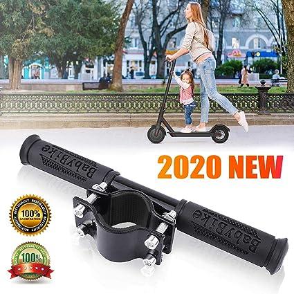 Scooter eléctrico Agarre Infantil,Scooter Manillar para niños Barra de Agarre Ajustable Holder Seguro Empuñadura Ajustable Antideslizante ...