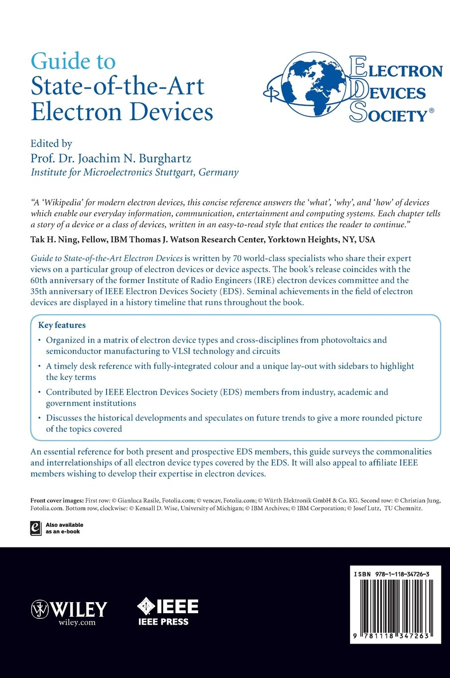 Read PDF Guide to State-of-the-Art Electron Devices (Wiley