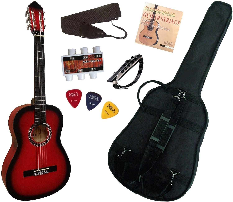 Pack Guitarra clásica 4/4 con 6 accesorios ~ Neuve & garantía ...