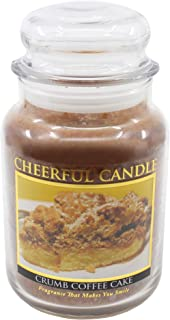 product image for A Cheerful Giver Crumb Coffee Cake Jar Candle, 24-Ounce