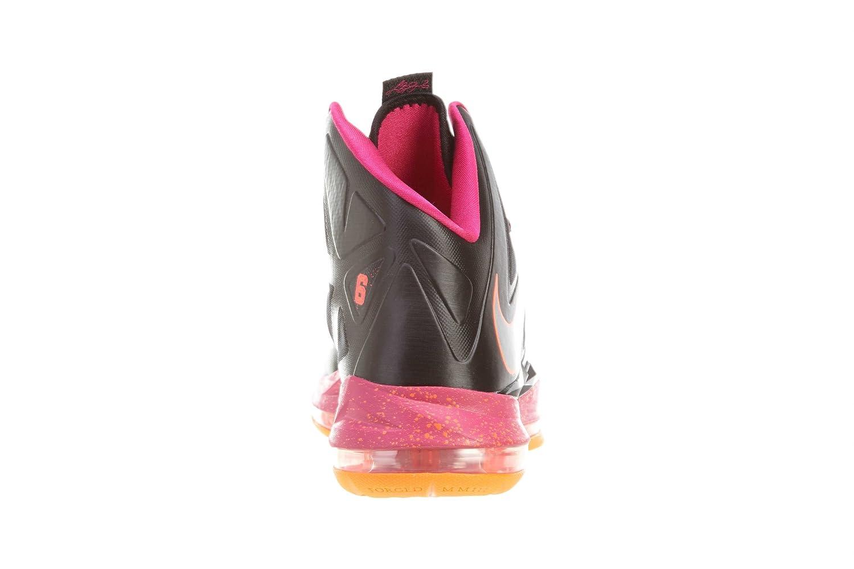 best website 145eb 8cd0f Amazon.com   NIKE Lebron X (Floridian Away) Black Cherry-Vivid Orange    Basketball