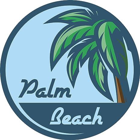 Amazon Beautiful Tropical Palm Tree Palm Beach Symbol Vinyl