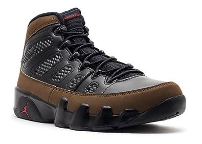 1283e474e23e Image Unavailable. Image not available for. Color  NIKE Air Jordan 9 Retro  Black Olive ...