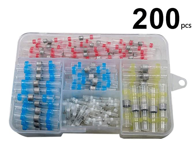 Valtcan 200 Piece Solder Seal Wire Connectors
