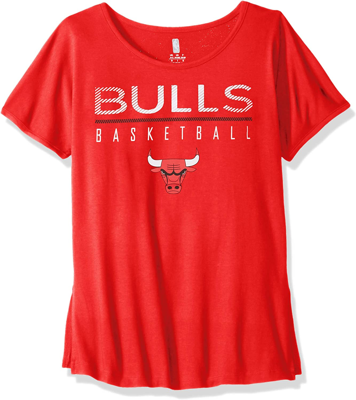 10-12 NBA by Outerstuff NBA Youth Girls Washington Wizards Team Captain Long Sleeve Slub Tee Red Youth Medium