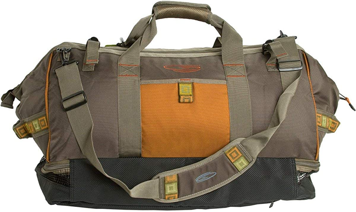 Fishpond Cimarron 24.5 Wader Duffel Bag and Backpack Stone