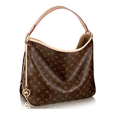 a9c6539f4175 Authentic Louis Vuitton Monogram Canvas Delightful PM Handbag  Article M50154 Made in France  Handbags  Amazon.com