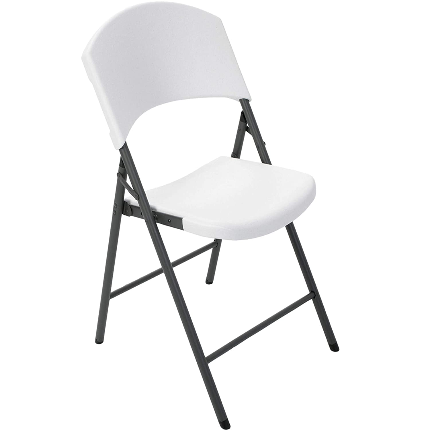 Awesome Lifetime Products Contoured Folding Chair White Machost Co Dining Chair Design Ideas Machostcouk