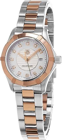 TAG HEUER RELOJ DE MUJER CUARZO SUIZO CAJA DE ACERO WAP1451.BD0837: Amazon.es: Relojes