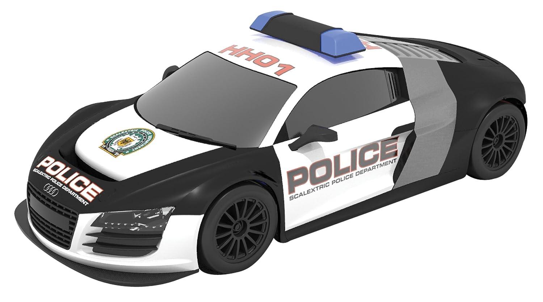 amazon com scalextric digital law enforcer race set 1 32 scale