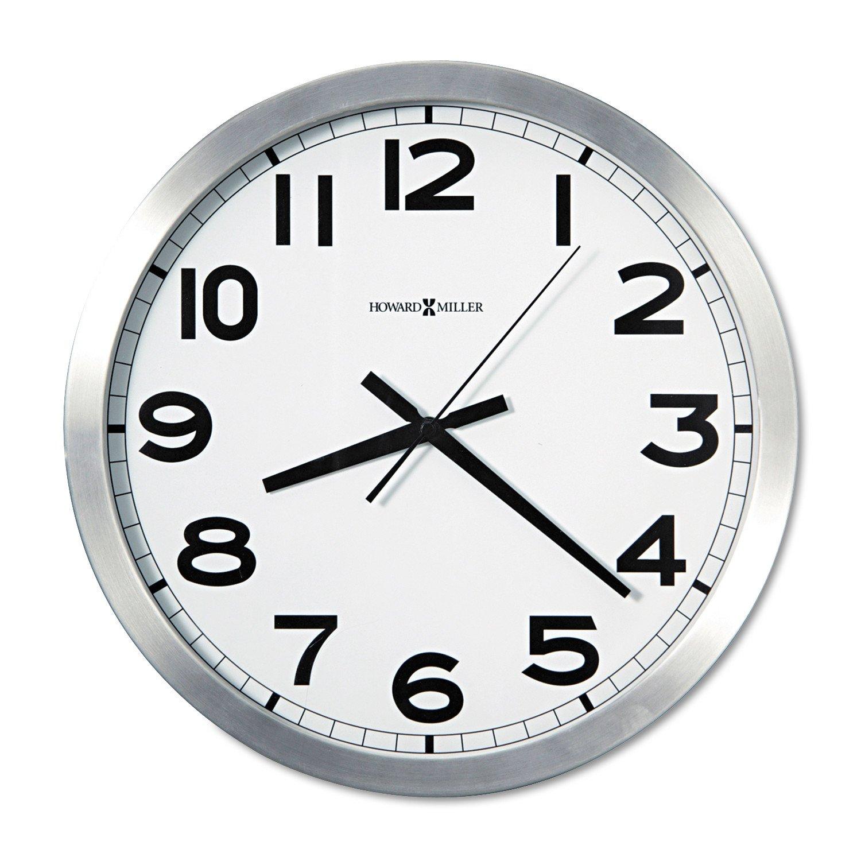Amazon Howard Miller Flat Round Wall Clock 15 34 625450