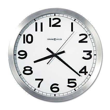 Amazon Com Howard Miller Flat Round Wall Clock 15 3 4 625450
