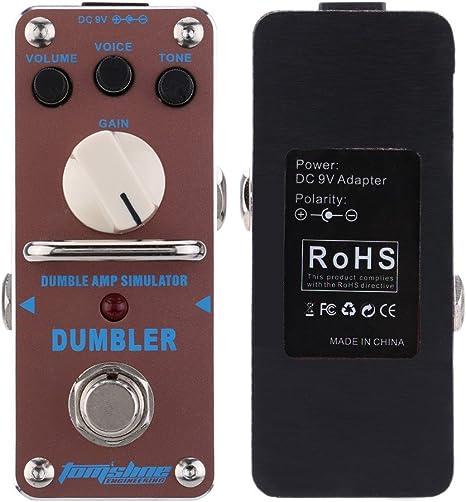 Doolland ADR-3 Dumbler Amp Simulator Mini pedal de efecto de ...