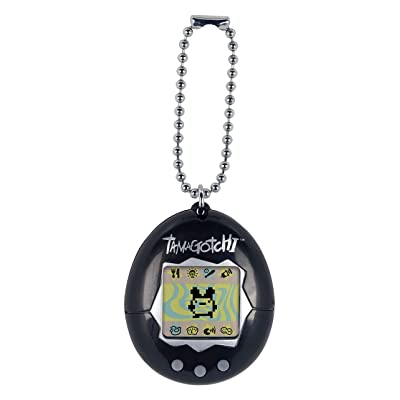 Tamagotchi Electronic Game, Black: Toys & Games