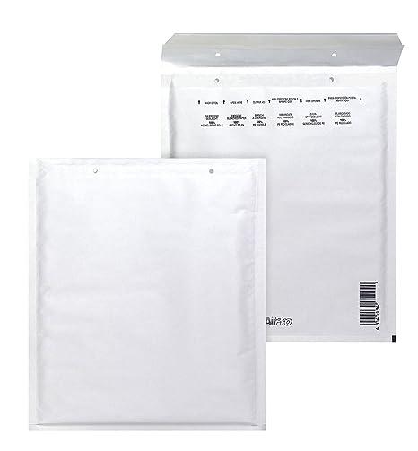 Bong AirPro - Pack de 100 bolsas acolchadas, 180 x 265 mm, color blanco