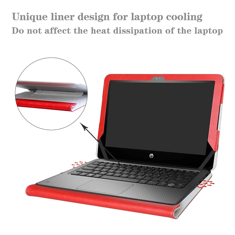 G4 EE Series Ordenador port/átil,Galaxy G2 EE Alapmk Dise/ñado Especialmente La Funda Protectora de Cuero de PU para 11.6 HP ProBook x360 11 G1 EE G3 EE