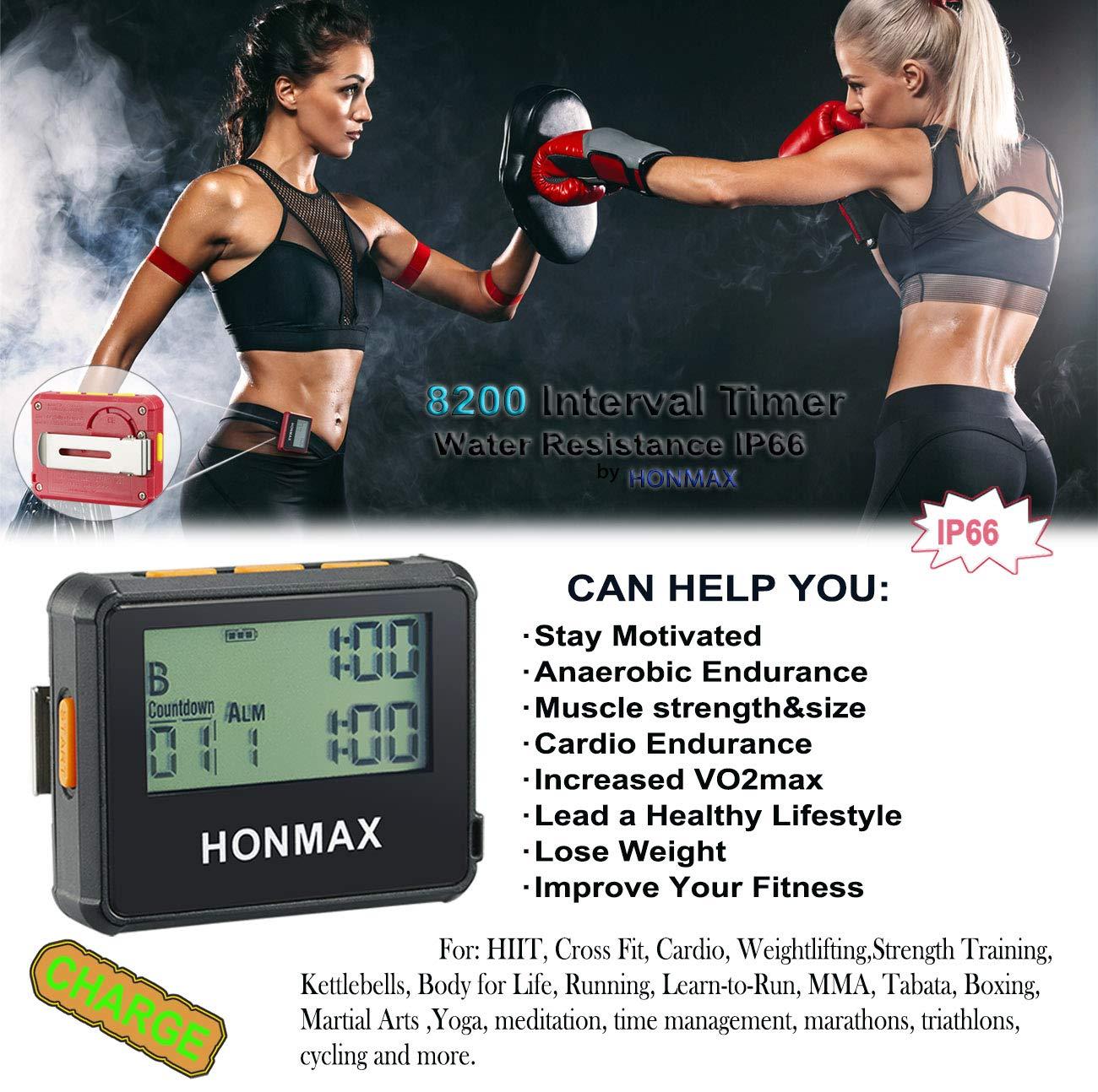 Amazon.com: HONMAX 8200 - Cronómetro con temporizador de ...