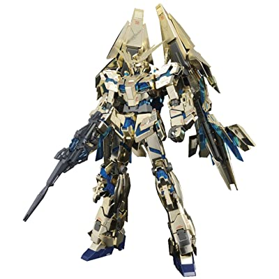 Bandai Hobby MG Unicorn Gundam 03 Phenex Model Kit (1/100 Scale): Toys & Games