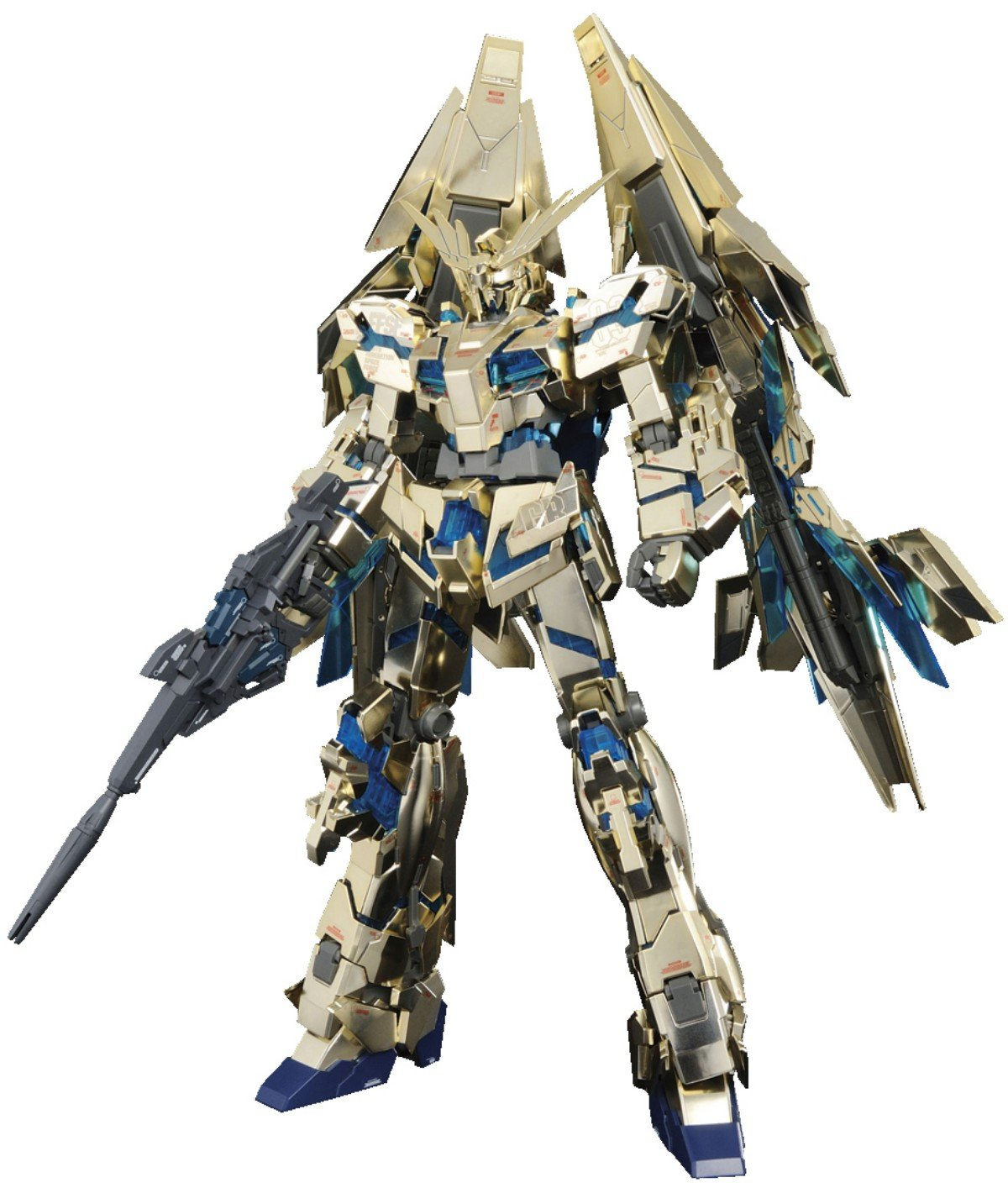Bandai Hobby MG Unicorn Gundam 03 Phenex Model Kit (1/100 Scale)
