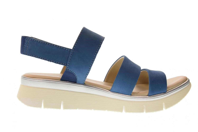 Schuhe Frau Sandalen D2016_04 Ricky Blue Größe 38 Blau The Flexx AZJjtji2L7
