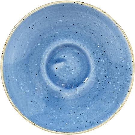 Churchill STONECAST Duck Egg Blue Espresso Cup//Saucer Porzellan Tasse 10cl blau