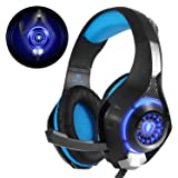 Cuffie Gaming, Beexcellent Cuffie PS4 con Microfono Noise Cancelling Stereo Bass 3.5mm per PS4, PC, Xbox One, Portatili, Mac, Tablet e Smartphone