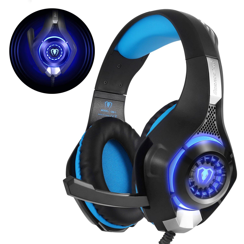 beexcellent gm 1 casque gaming ps4 gamer avec micro premium anti bruit ebay. Black Bedroom Furniture Sets. Home Design Ideas