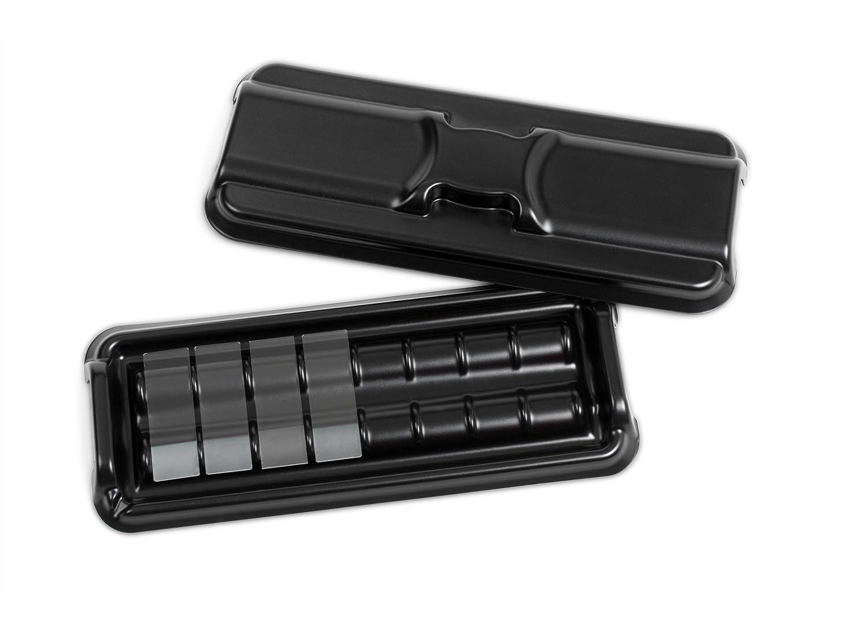 Heathrow Scientific HD15951/A usa e getta Slide colorazione vassoio set nero