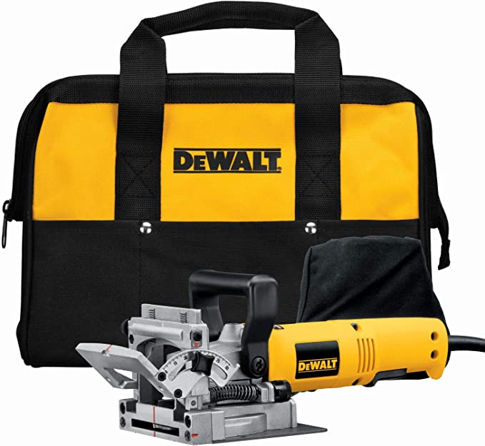 best biscuit joiner: DEWALT DW682K - best for every woodworker