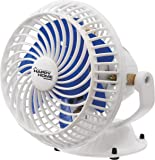 VARSHINE Happy Home Cabin Copper High Speed Fan, 9 Inches (White)