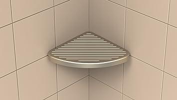 Shower Foot Rest For Shaving, Victoria Series Corner Foot Prop Shelf By  Tileware, Corner