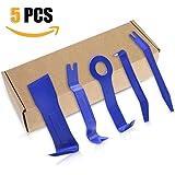 Auto Demontage Werkzeuge, Aodoor Zierleistenkeile-Set Türverkleidungs Lösewerkzeug Demontage Universal Auto Türverkleidung und Platten  - verschiedene Formen (Blau) - 5 Stück
